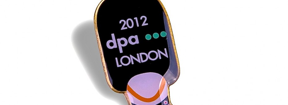 DPA Pin zur Olympiade in London
